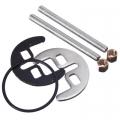 Комплект креплений для смесителя на кухню раковину 40мм М6 (2 шпильки) люкс