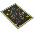 """Гравюра цветная для малышей 19х26см, в комплекте с пластик.стеком, """"Потеха"""", 5 дизайнов"""