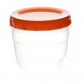 Банка для хранения продуктов 0,5л пластик С432 ПБ