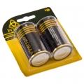 "Батарейка ""Alkaline"" щелочная, тип D, 1,5В, 2шт"