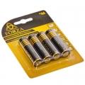 """Батарейка """"Alkaline"""" щелочная, тип AA, 1,5В, 4шт"""