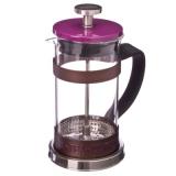 Френч-пресс нерж.сталь, с силиконом Coffe- Tea, 350мл, фиолетовый