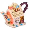 Чайник заварочный, керамика, 300мл, Дачный домик