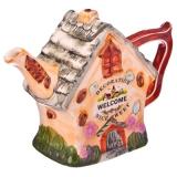 Чайник заварочный, керамика, 300мл, Пряничный домик