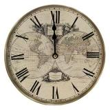 "Часы настенные ""Ретро стиль"", 23х23см, МДФ, пластик, 1хАА, арт.2"