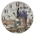 "Часы настенные ""Ретро стиль"", 23х23см, МДФ, пластик, 1хАА, арт.4"