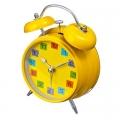 "Будильник электронный c подсветкой ""Утро"" 10*5,5*16 см., металл, пластик, микс, ТD-6042"
