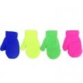 Варежки детские 3-6 лет 4 цвета