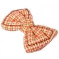 Заколка-зажим для волос, текстиль, металл, 6см, 6 цветов, 4106-32
