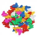 "Декор фигурный ""Бабочки"" пластик, размер уп 10x8,5см"