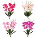 """Букет искусственных цветов """"Дикая орхидея"""", 60см, пластик, полиэстер, 4 цвета, арт.А001-14"""
