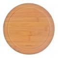Доска разделочная бамбук, d23х0,9см