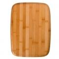 Доска разделочная бамбук 38х28х1,0см H-1555