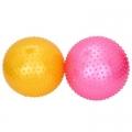 Мяч для фитнеса массажный, ПВХ, 85см, 4 цвета, в коробке