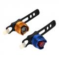 Мини-фонарь велосипедный, 2 режима, 1LED, пит.батар. 2СD2035, 2 цвета