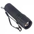 Фонарь ZOOM светодиодный 0,75W пластик прорезиненный 3хААА 11,5х3см