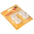 Заглушки для электрических розеток с держателем, 4шт, пластик, d3,2х2,2см