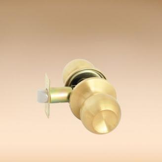 Замок Koral 6873 6072 sbps матовый золото без ключа без фиксатора