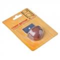 Стопор дверной, магнитный пластик, металл, 2,5х5см, коричневый