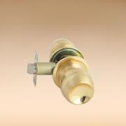 Замок Koral 6902 pb/sbps золото матовый без ключа без фиксатора