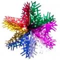 Гирлянда-подвеска Сноу Бум Снежинка 40см (фольга, многоцвет), MYH-093