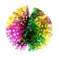 Гирлянда-подвеска Сноу Бум Шар 25см (фольга, многоцвет), MYH-070