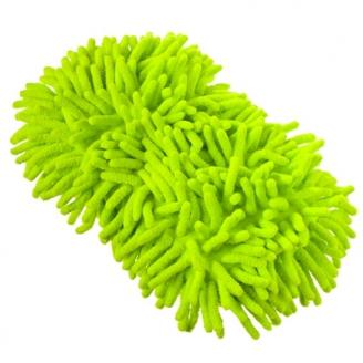 Губка для уборки из микрофибры 408 (12х22см)