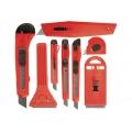Набор ножей выдвижные лезвия 9мм-4 18мм-2 скребки 40-52мм 2шт Matrix