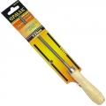 Напильник с дерев. ручкой круглый 150мм
