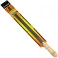 Напильник с дерев.ручкой трехгр. 300мм