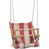 Качели деревянные 45х36см до 200кг текстиль береза