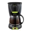 Кофеварка PCM 1211 черный/салатовый POLARIS