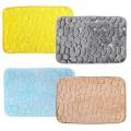 Коврик для ванной из микрофибры 40х60x1,2см, 4 цвета