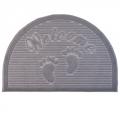 Коврик придверный с ворсовой поверхностью, 40х60см, эконом Узор, 4 цвета