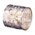 Кольцо для салфеток 4,5х4см, металл, 2 дизайна Серебряное зеркальце