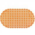 Коврик в ванну противоскользящий, ПВХ, 67x36см, эконом, Симпл, 4 цвета