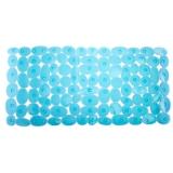 Коврик в ванну противоскользящий, ПВХ, 70x34см, Pure полупрозрачный, 2 цвета