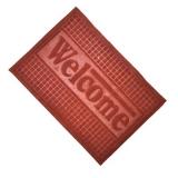 Коврик в прихожую Welcome 40*60 см на резиновой основе CX1005 цвет в асс.