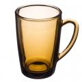 Кружка 300мл дымчатое стекло Mattina di cafe 62006 62005