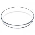 Лоток для выпекания жаропрочный стеклянный Ф260мм, h45мм