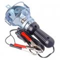 Лампа переносная металл 12v 15-6044A (CJJ310) (110), с зажимами