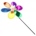 Игрушка ветряная вертушка Семицветик, ПВХ, 28,5см