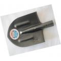 Лопата штыковая остроконечная ЛКО-4 ребро жесткости 1,8мм серебристаябез черенка