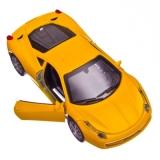 Машинка инерционная 1:32 Спортивная с анимацией (музыка, мерц. фар), микс, F1032-12М