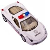 Машинка инерционная 1:43 Полиция, 11х3,5х4,5см, микс, цинковый сплав, пластик, XL80139-12P