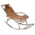 Кресло-качалка искусств.ротанг 1780*650*530-800мм мет каркас1,1*25мм Veranda