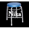 Табурет Элит 1 на 4 опорах (кругл. сиденья) Ника