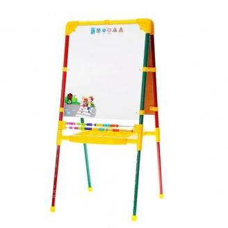 Мольберт для детей светофор с изменяемой высотой М2