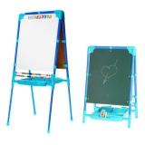 Мольберт для детей голубой с изменяемой высотой М2