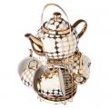 Набор чайный 13предметов 220мл c чайником 800мл фарфор